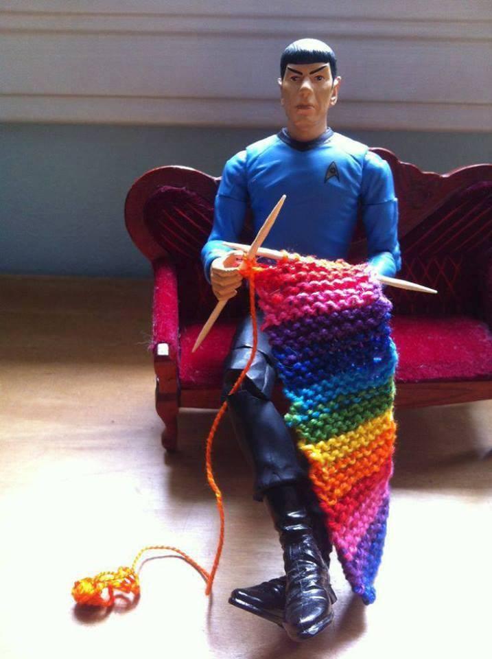 knitting Spok
