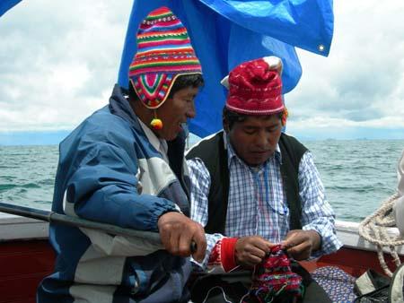 tricoteurs bateau