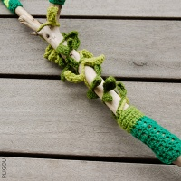 Green Yarn Bombing